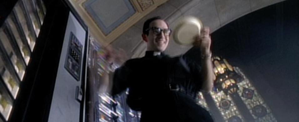 Got Milk? Priest & Vending Machine